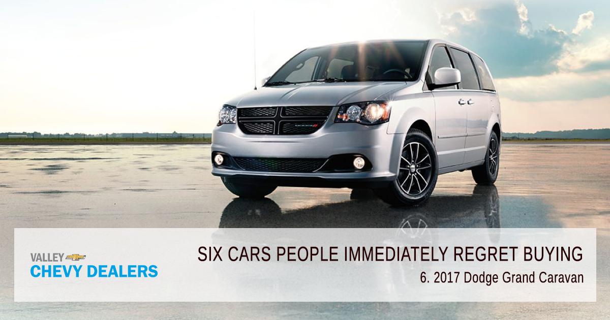Valley Chevy - 6 Cars People Immediately Regret Buying in 2017: Grand Caravan
