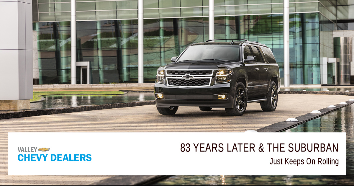 Valley Chevy - 83 Years of Suburban SUV - Featured