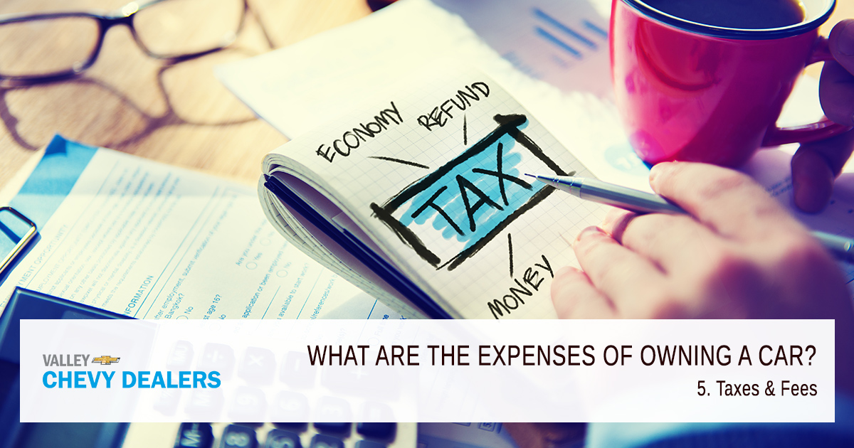 What are the Expenses of Owning a Car? - Taxes