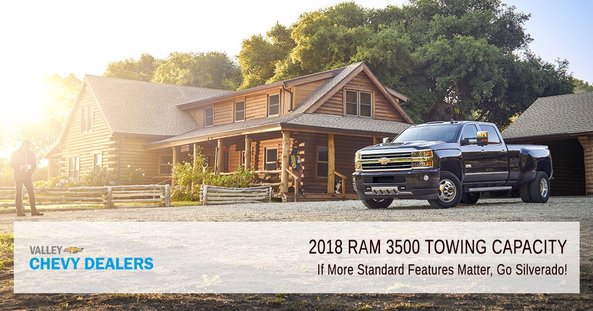 Valley Chevy Phoenix What Is 2018 Ram 3500