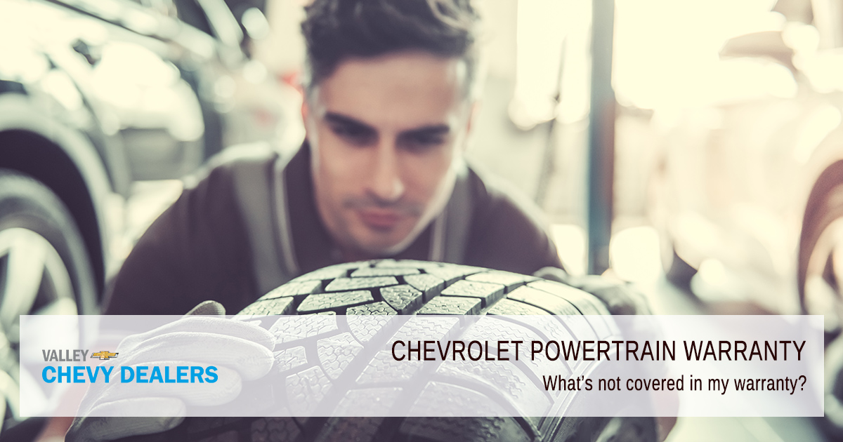 Valley Chevy - What Does a Chevrolet Powertrain Warranty Cover - What's Not Covered?