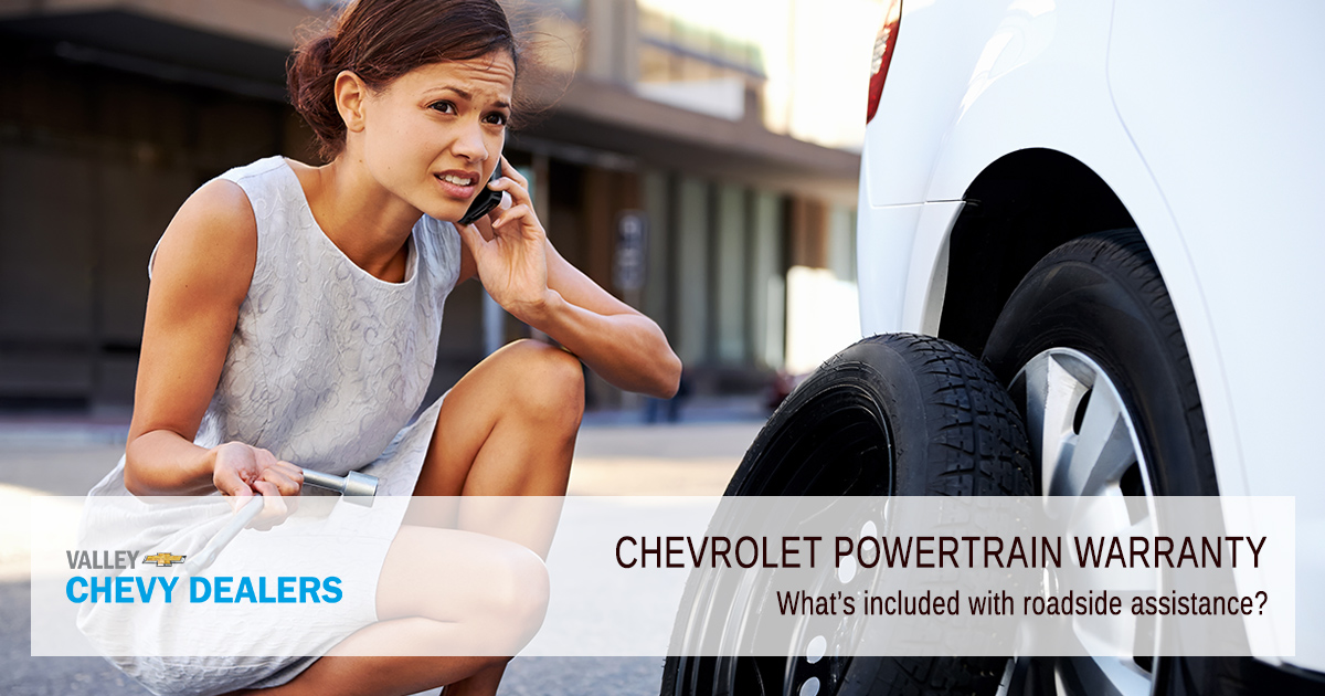 Valley Chevy - What Does a Chevrolet Powertrain Warranty Cover - Roadside Assistance