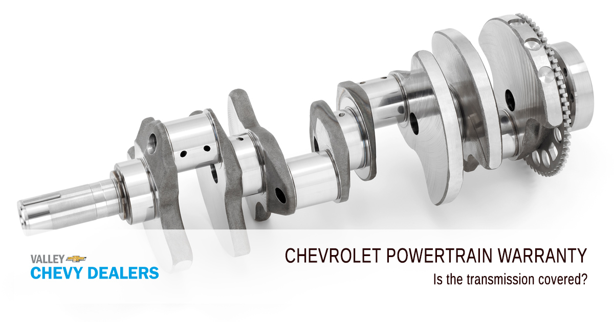 Valley Chevy - What Does a Chevrolet Powertrain Warranty Cover - Is Transmission Covered?