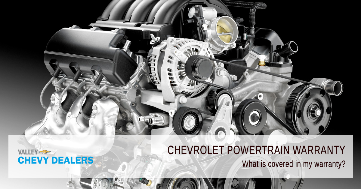 Valley Chevy - What Does a Chevrolet Powertrain Warranty Cover - What is Covered?