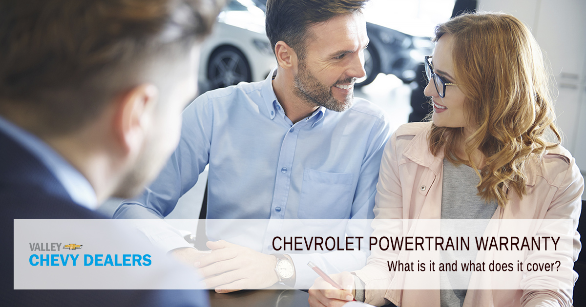 What Does a Chevrolet Powertrain Warranty Cover