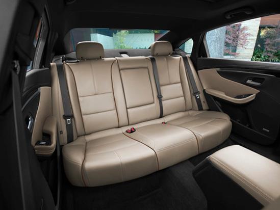 Valley Chevy in Phoenix: 2017 Chevrolet Malibu vs Impala - Which One Should I Buy? - Impala Back Seat Leather