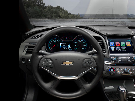 Valley Chevy in Phoenix: 2017 Chevrolet Malibu vs Impala - Which One Should I Buy? - Impala Steering Wheel