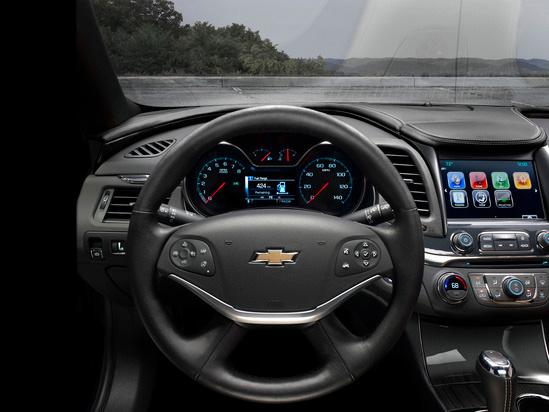 Valley Chevy in Phoenix: 2017 Chevrolet Malibu vs Impala - Which One Should I Buy? - Impala Steering Wheel