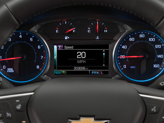 Valley Chevy in Phoenix: 2017 Chevrolet Malibu vs Impala - Which One Should I Buy? - Malibu Speedometer & Gauges