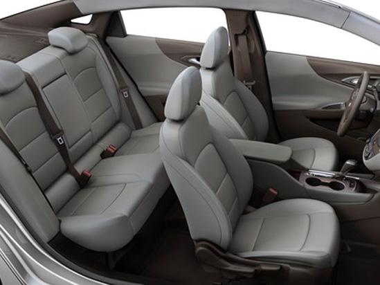 Valley Chevy in Phoenix: 2017 Chevrolet Malibu vs Impala - Which One Should I Buy? - Malibu Leather White Inside