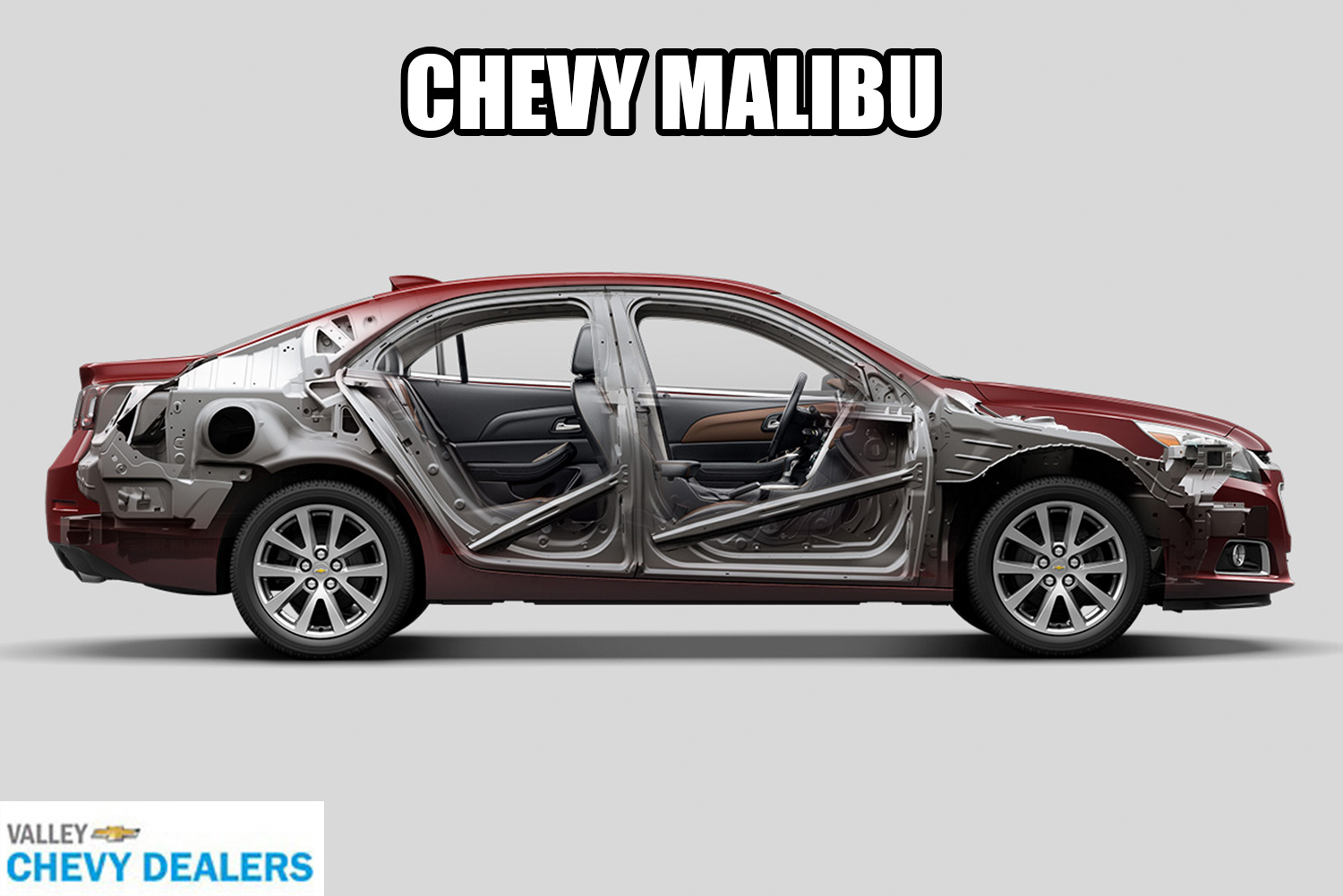 Valley Chevy in Phoenix: 2017 Chevrolet Malibu vs Impala - Which One Should I Buy? - Malibu Safety Airbags
