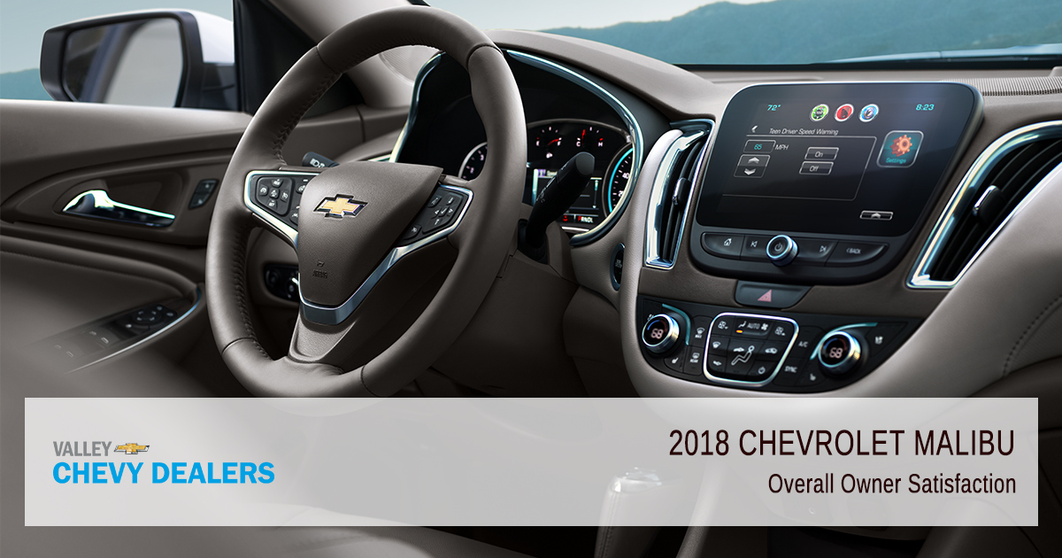 Valley Chevrolet - 2018 Chevrolet Malibu - Overall Reliability and Satisfaction