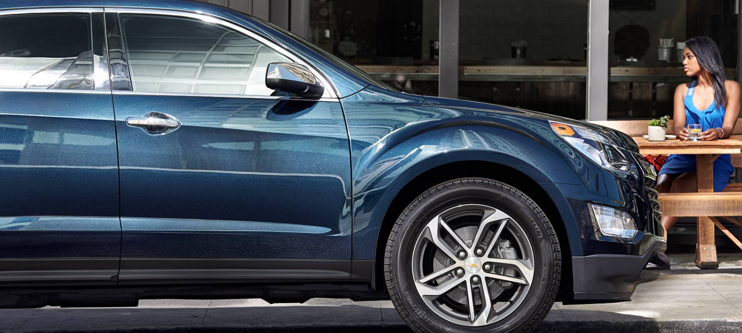 Valley Chevy - Top-Rated SUVs to Buy: Chevrolet Equinox - 5-Spoke Wheels