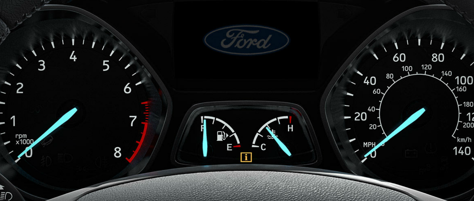 Valley Chevy - Top-Rated SUVs to Buy: Ford Escape - Spedometer & Rev Counter