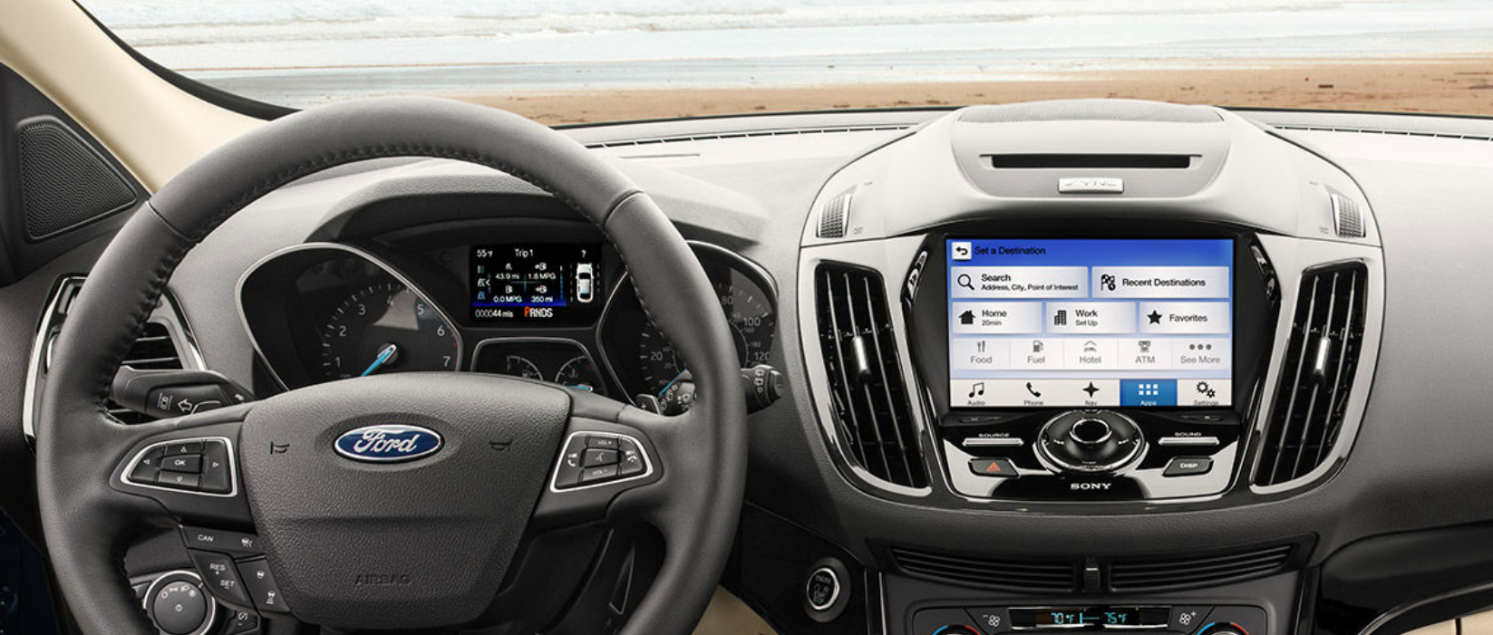 Valley Chevy - Top-Rated SUVs to Buy: Ford Escape - Steering Wheel