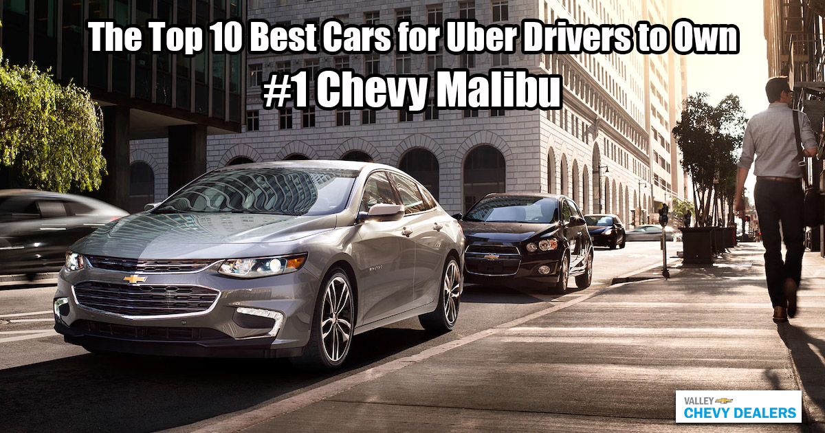 Valley Phoenix Chevy - 10 Best Cars for Uber Drivers to Own: Chevy Malibu