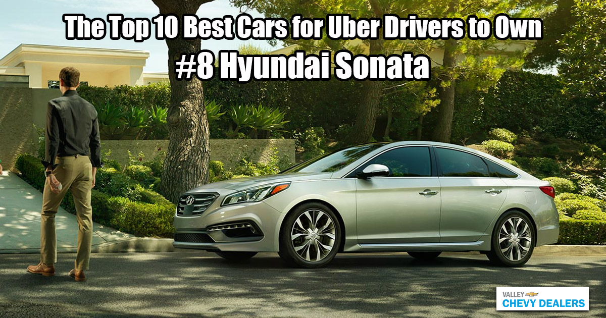 Valley Phoenix Chevy - 10 Best Cars for Uber Drivers to Own: Hyundai Sonata