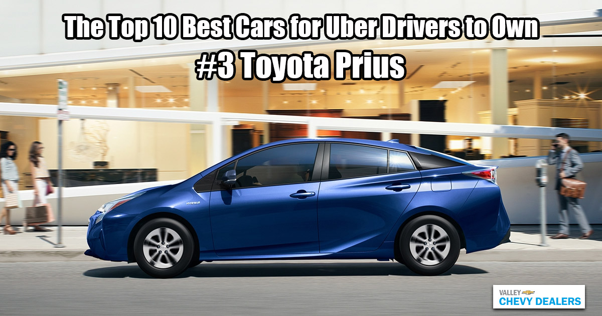 Valley Phoenix Chevy - 10 Best Cars for Uber Drivers to Own: Toyota Prius