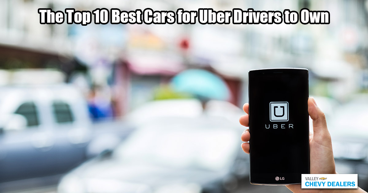 Valley Phoenix Chevy - 10 Best Cars for Uber Drivers to Own