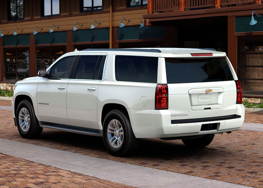 Phoenix Valley Chevrolet - Highest Rated Safety Chevy SUVs: Suburban