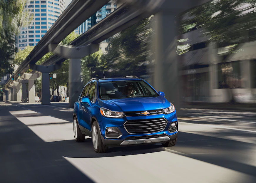 Phoenix Valley Chevrolet - Highest Rated Safety Chevy SUVs: Trax